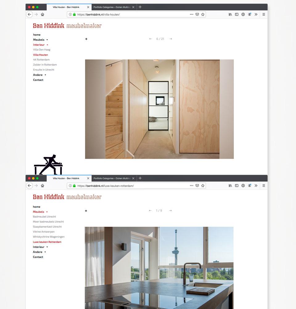 website-benhiddink-meubelmaker-duhenmultimedia